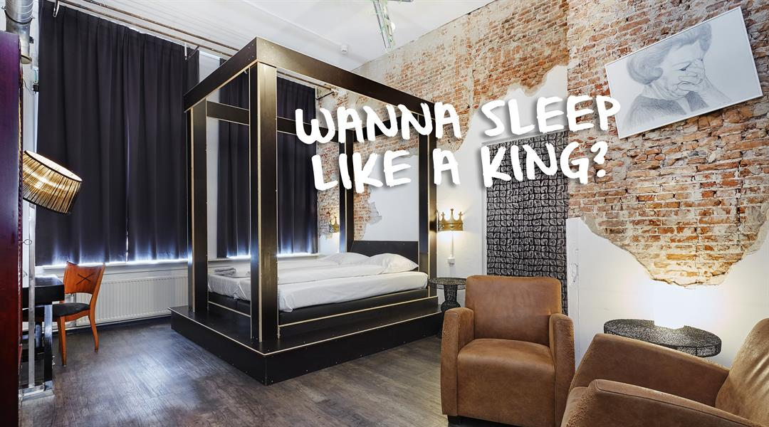 wanna sleep like a king